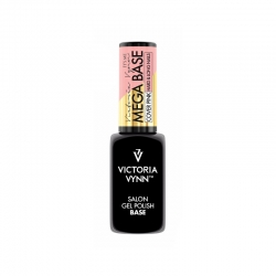 MEGA BASE HARD&LONG NAILS VICTORIA VYNN 8 ml - COVER PINK