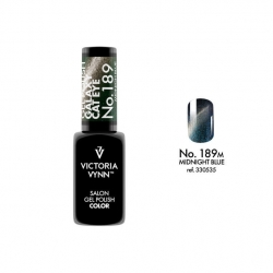 Lakier hybrydowy GALAXY CAT EYE Midnigh Blue nr 189 VICTORIA VYNN - 8 ml