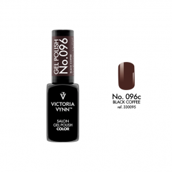 Lakier hybrydowy GEL POLISH COLOR Black Coffee nr 096 - 8 ml