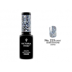 GEL POLISH COLOR CARAT SILVER DIAMOND nr 225 VICTORIA VYNN