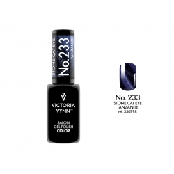 Lakier hybrydowy Gel Polish Color STONE CAT EYE TANZANITE nr 233 VICTORIA VYNN - 8 ml NOWOŚĆ!