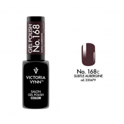 Lakier hybrydowy GEL POLISH COLOR Subtle Aubergine nr 168 VICTORIA VYNN - 8 ml