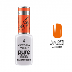 VICTORIA VYNN PURE CREMY HYBRID 075 HOT ORANGE - 8 ml - victoriavynn24.pl