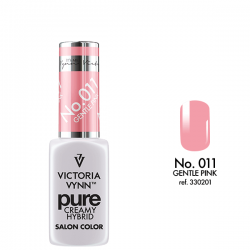 VICTORIA VYNN PURE CREMY HYBRID 011 GENTLE PINK - 8 ml