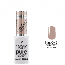 VICTORIA VYNN PURE CREMY HYBRID 042 MILK COFFEE - 8 ml - victoriavynn24.pl