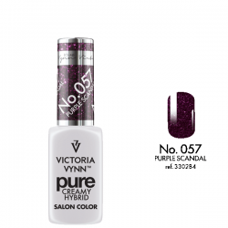 VICTORIA VYNN PURE CREMY HYBRID 057 PURPLE SCANDAL - 8 ml - victoriavynn24.pl