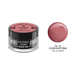 Żel budujący Victoria Vynn Cover Dusty Pink No.13 SALON BUILD GEL - 15 ml - NOWOŚĆ!