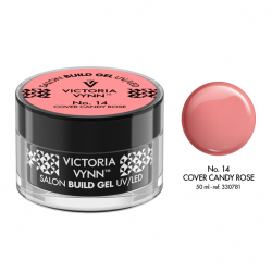 Żel budujący Victoria Vynn Cover Candy Rose No.14 SALON BUILD GEL - 50 ml - NOWOŚĆ!